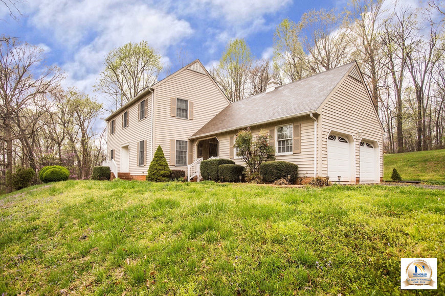 Well Built 3 BR/2.5 BA Home with Basement on 3.3 +/- Acres in Orange County, VA