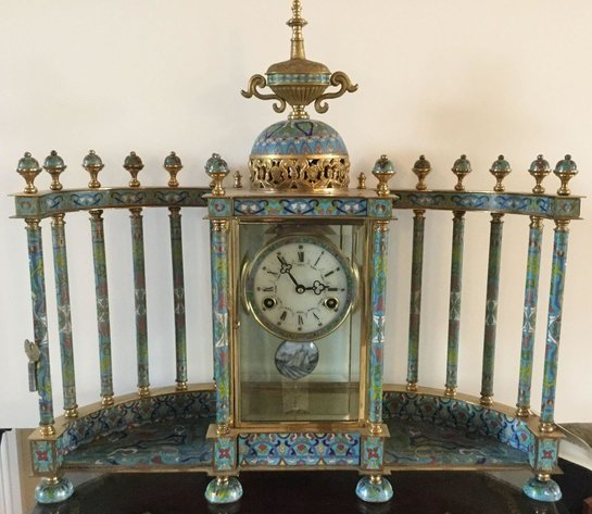 Alderfer Online - Huntingdon Valley, PA Auction: 5-6-19 | Impressive Huntingdon Valley Auction Features Cloisonne Clock, Lladro Figurines, Asian Folding Screen, Lenox China, Waterford Stemware, and Much More!