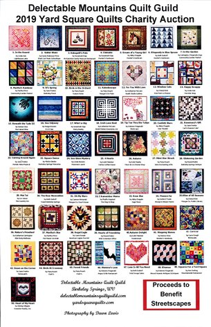 Delectable Mountain Quilt Guild~2019 Yard Square Quilts Charity Auction