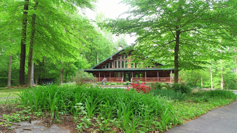 Featured Image for Immaculate 3 BR/3 BA Log Home on 8.4 +/- Acres Only Minutes from Lake Anna--Louisa County, VA