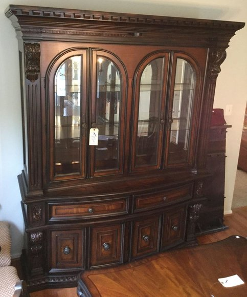 Alderfer Online - Eagleville, PA: 5-20-19 | Featuring Fairmont China Cabinet, Waterford Glassware, Weber Grill, Area Rugs, Bose, Leather Sofa & More!