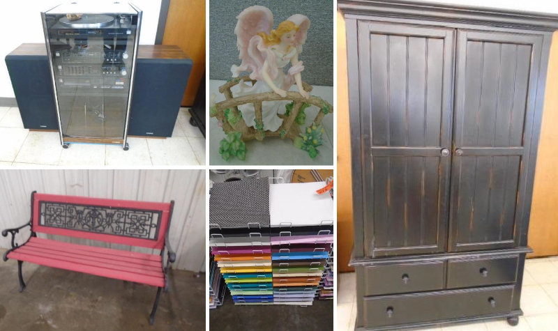 Sauk Rapids Furniture, Crafting Supplies, Seraphim Angels & More