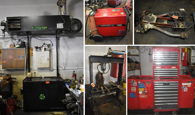 Auto Repair Equipment Liquidation