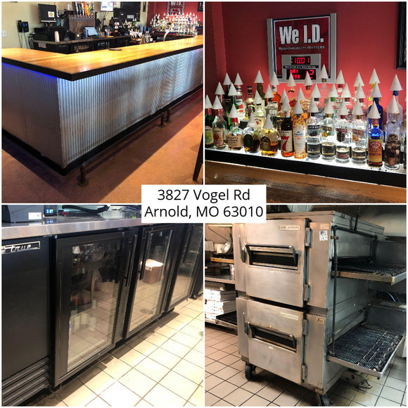 Big Pizza Restaurant and Bar Moving Sale