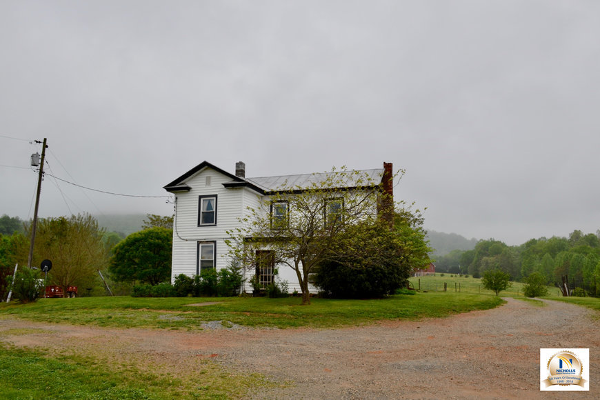 3 BR Farm House, Outbuildings & Fenced Pastures on 28.75 +/- Acres w/Scenic Mountain Views in Greene County, VA