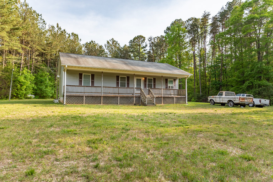 Featured Image for 3 BR/2 BA Home on 72.5 +/- Acres (60+ Acres is Timber) in Lunenburg County, VA--Sells to the Highest Bidder!!