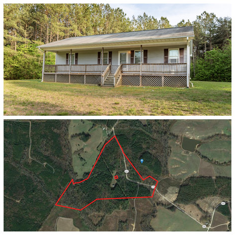 Image for 3 BR/2 BA Home on 72.5 +/- Acres (60+ Acres is Timber) in Lunenburg County, VA--Sells to the Highest Bidder!!