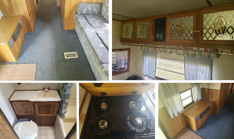 1993 Dutchmen 350 33' Classic Travel Trailer