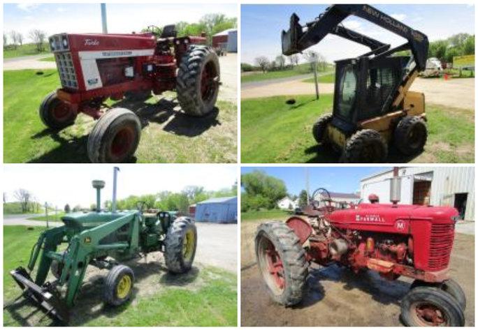 Farm Machinery Liquidation - Ellsworth, WI