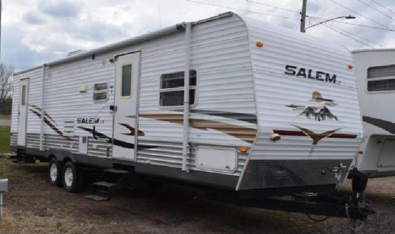 (9) Travel Trailers and (5) 5th Wheels