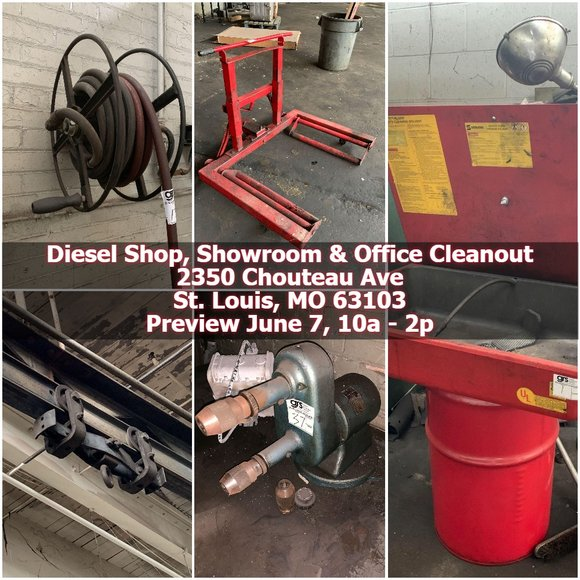 Diesel Truck Repair Shop, Office & Showroom