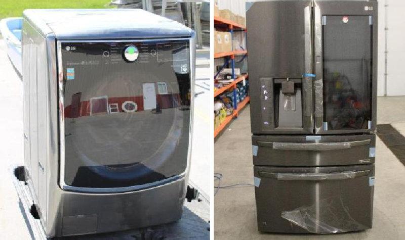 (2) Semis, Semi Trailer, Trucks, Appliances & More