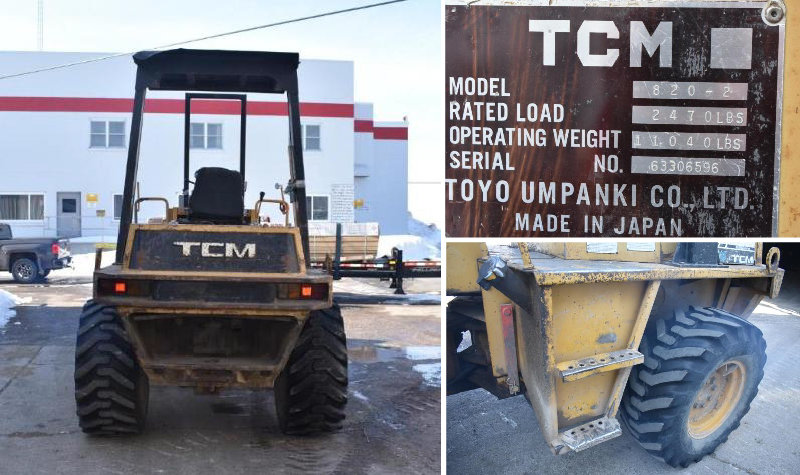 TCM 820-2 Articulating Loader