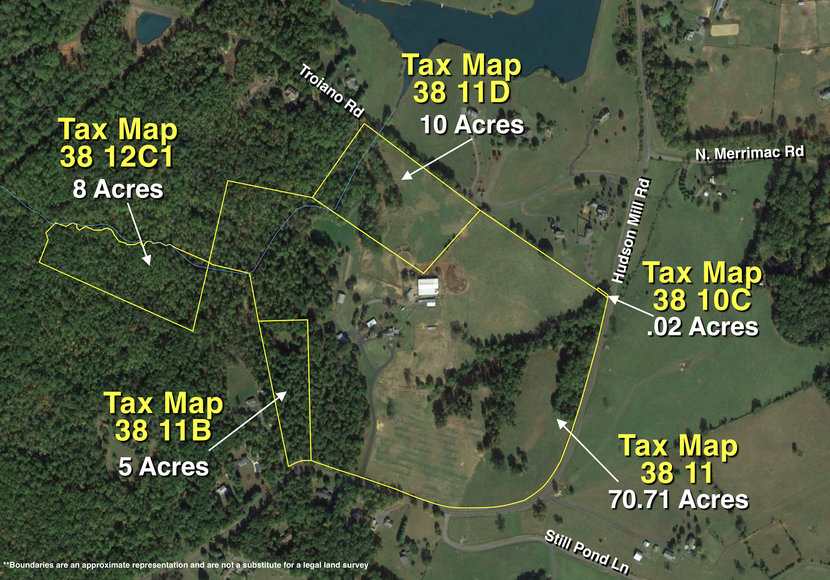 Featured Image for 7.9 +/- Acre Wooded Parcel w/Easement Off of Crowell Lane in Culpeper, VA