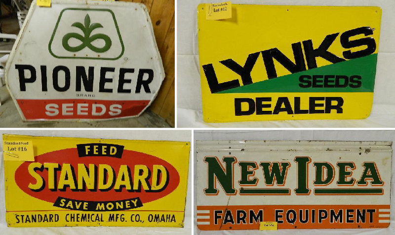 Collectible Signs and Cans