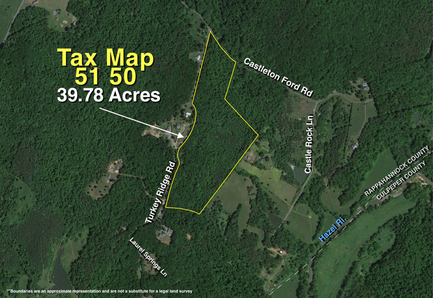 Featured Image for 39.7 +/- Wooded Acres w/2,700' +/- of Frontage on Turkey Ridge Rd. in Rappahannock County, VA