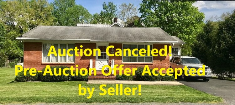 Reserve~Online Only Real Estate Auction~39 Concord Avenue~Berkeley Springs, WV