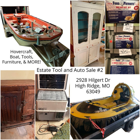 Estate Tool and Auto Sale #2- More Amazing Stuff