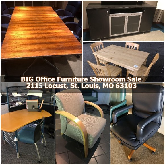 BIG Office Furniture Showroom Sale