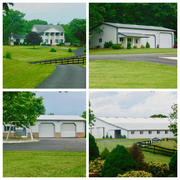 4 BR/5.5 BA Manor Home on 80.7 +/- Acres w/Several Multi-Purpose Buildings in Culpeper, VA Only Minutes from Rt. 29!
