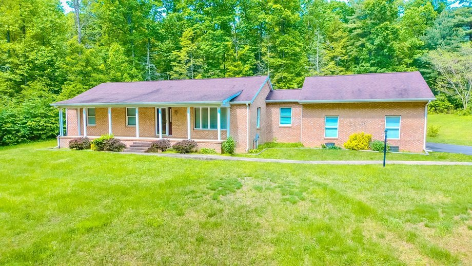 3 BR/2 BA Brick Home w/Basement on 40.9 +/- Acres in Berkeley Springs, WV