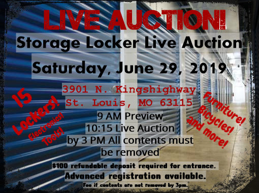 *LIVE* Storage Locker Auction