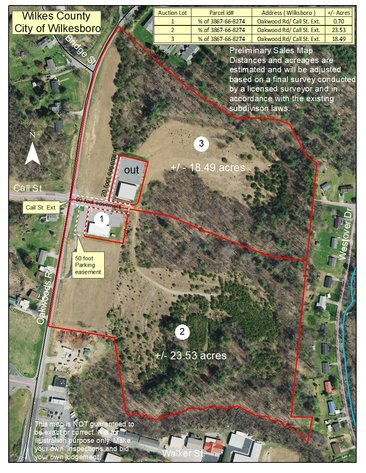 Receivership Auction of Commercial Building, Commercial and Residential Lots & Acreage