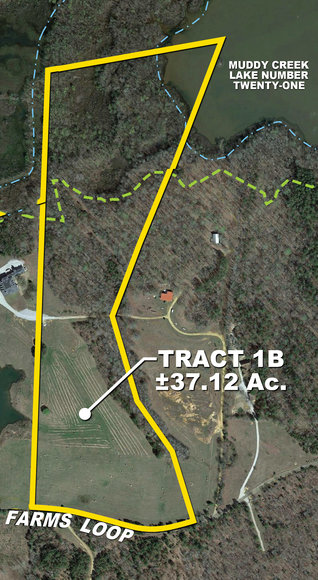 37± Acres of Farm Land & More for Sale - Tract 1B on Winwood Farms Loop, Middleton, TN