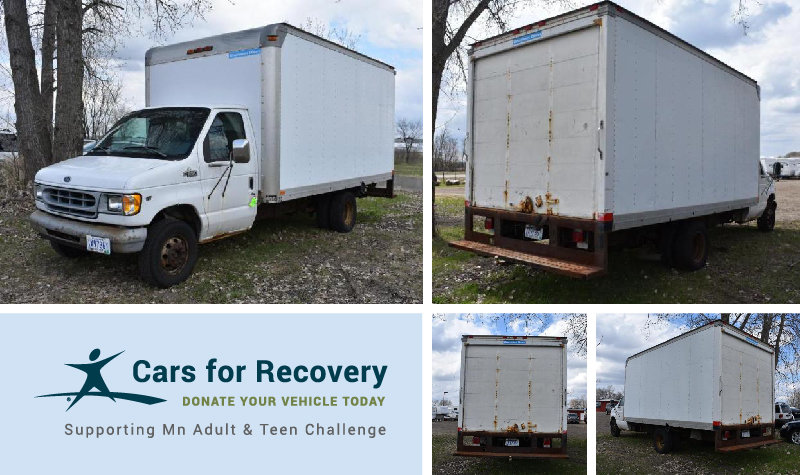 MN Adult & Teen Challenge - 1999 Ford E-350 Cube Truck