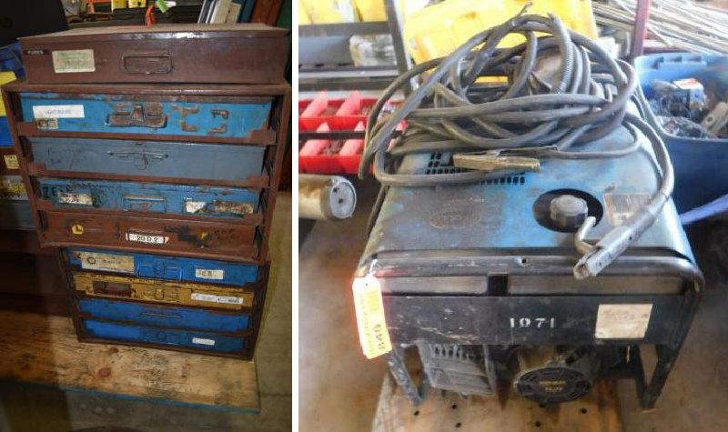 Heavy Truck Repair Shop Tools and Equipment