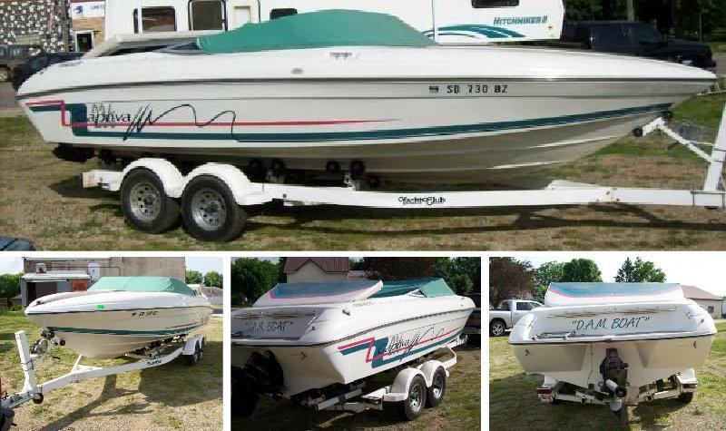 1993 Rinker Captiva 235 Boat & Trailer, 1997 Hitchhiker 30', 2007 Ford Taurus & 2002 Dodge Sport Wheelchair Van