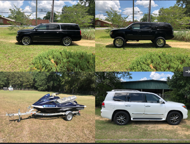 Bankruptcy Boat, SUV and Jet Ski Auction