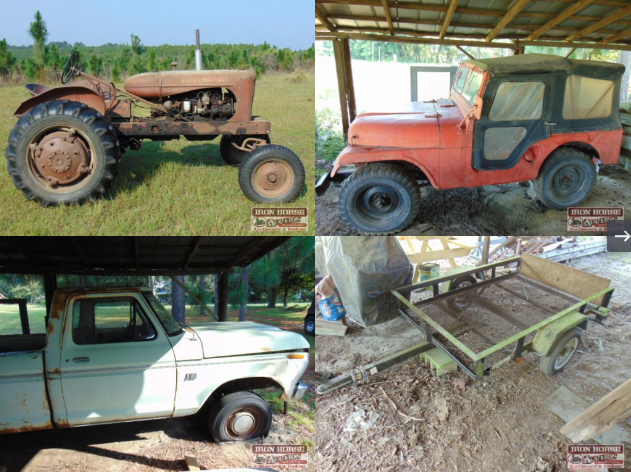 Farm Equipment, Barns, Tractors and Much More