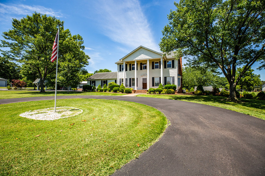 Featured Image for 4 BR/5.5 BA Manor Home on 80.7 +/- Acres w/Several Multi-Purpose Buildings in Culpeper, VA Only Minutes from Rt. 29!