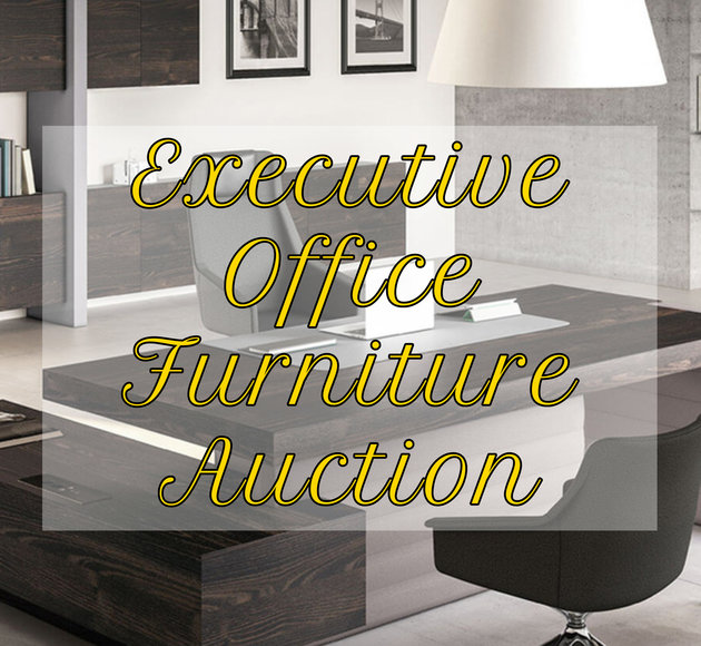 COMING SOON: Executive Office Furniture Auction