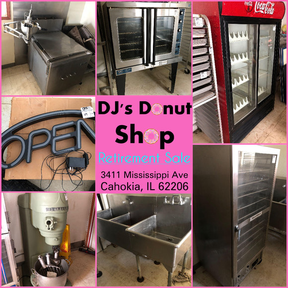 DJ's Donut Shop Retirement Sale