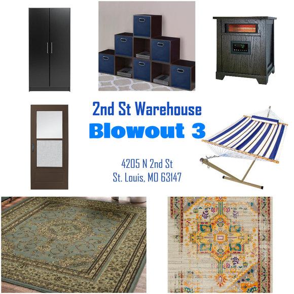 2nd Street Warehouse - Blowout 3