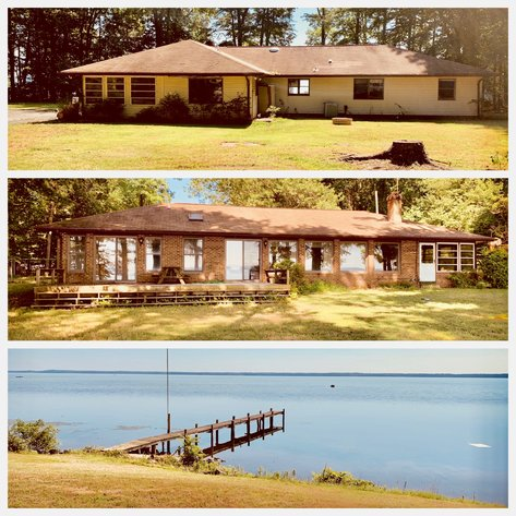 3 BR/3 BA Potomac Riverfront Home on 6 +/- Acres in Stafford County, VA--SELLS to the HIGHEST BIDDER!!