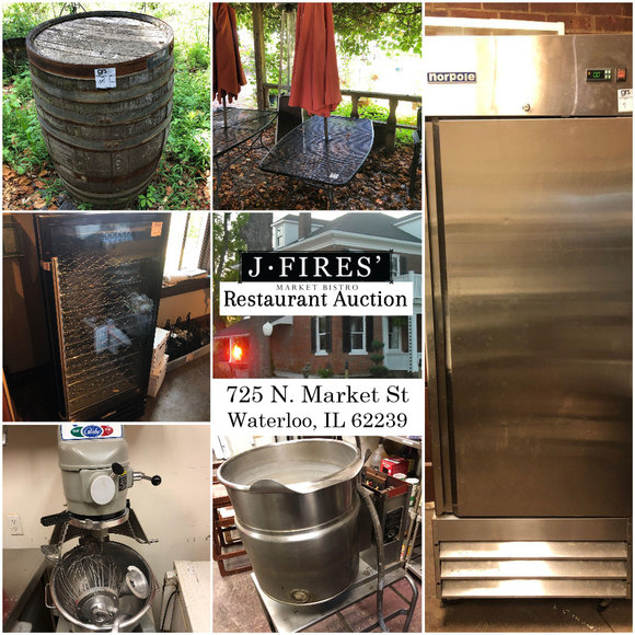 J.Fires Restaurant Auction