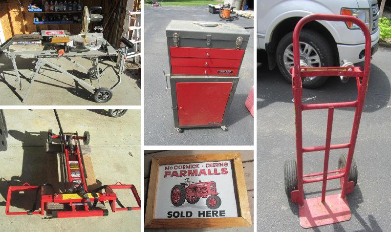 Hebzynski Moving Sale, Park Rapids, MN