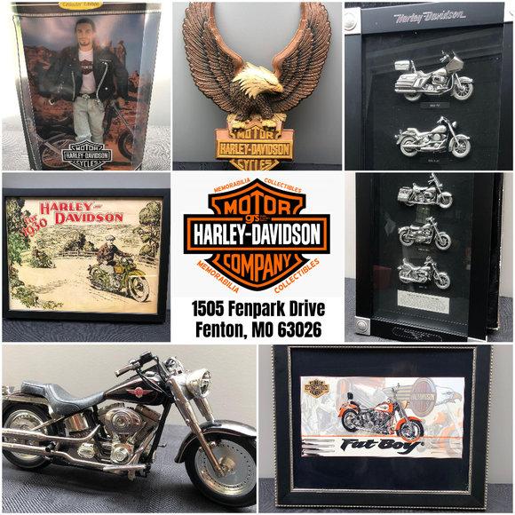 Harley Davidson Memorabilia & Collectibles