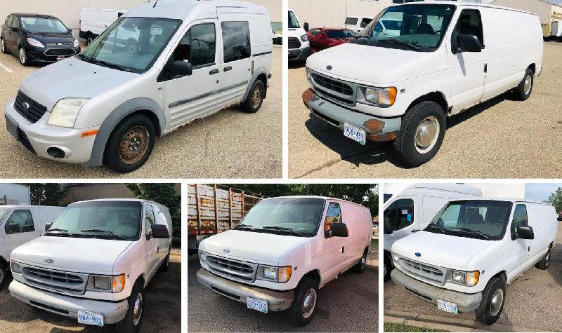 Vans, Medium & Heavy Duty Truck Inventory Reduction