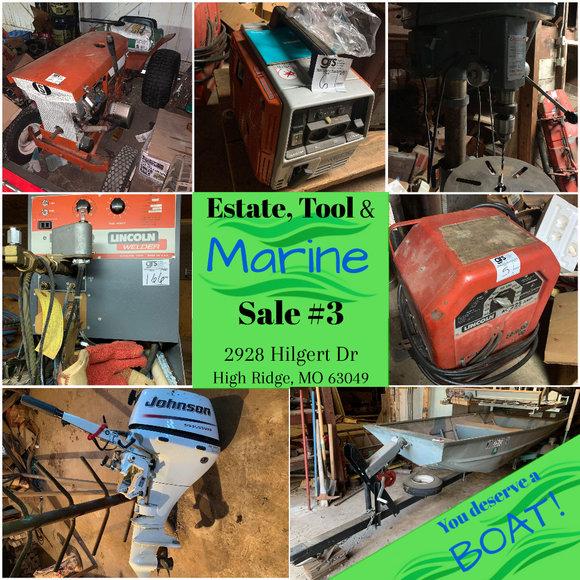 Estate, Tool and Marine Sale #3