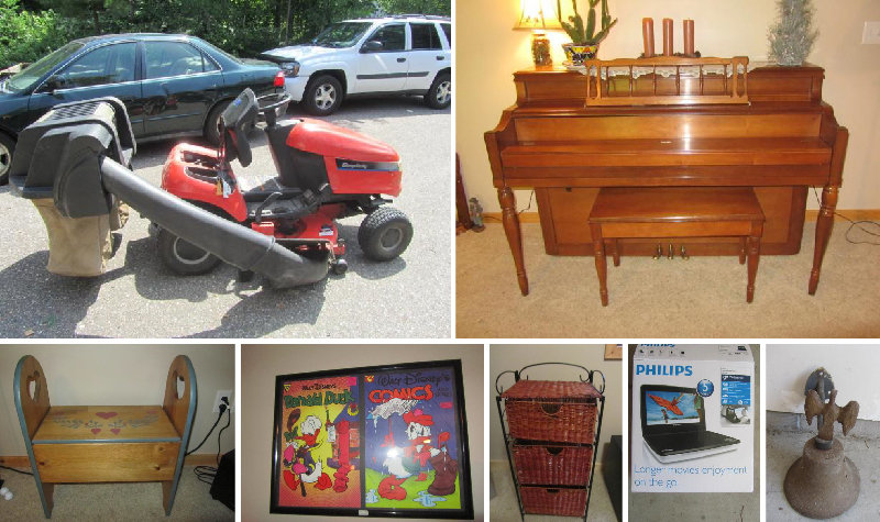 Larry and Mary Neer Moving Sale