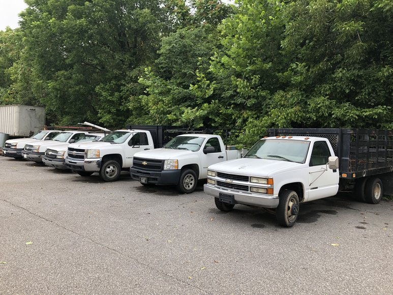 Bankruptcy Auction of S & S Mechanical Company of Statesville Inc. Vehicles