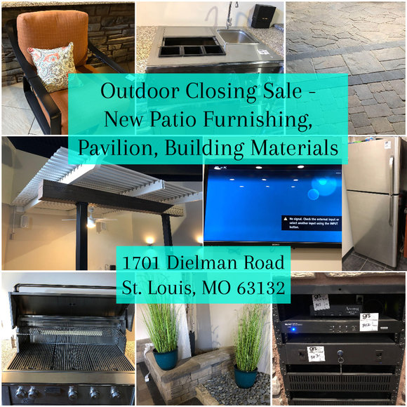 Contractor Closing Sale - New Patio Furnishing, Pavilion, Building Materials