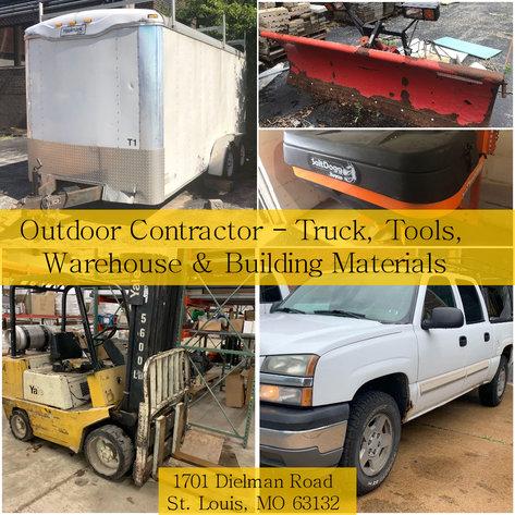 Outdoor Contractor Truck Tools Warehouse Amp Building