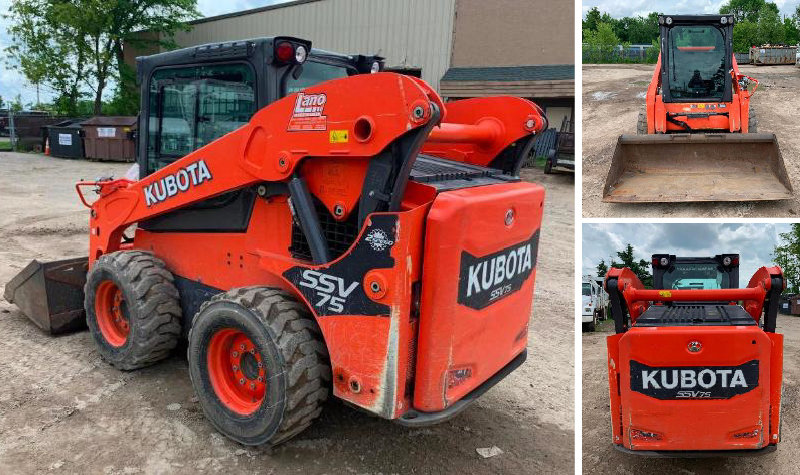 Changing Directions: 10 Ton Per Hr Single Sort Recycling System, Kubota SSV75, Live Bottom Trailers, Garbage Trucks, & More