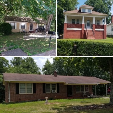 15 Homes in Martinsville City & Henry Co., VA
