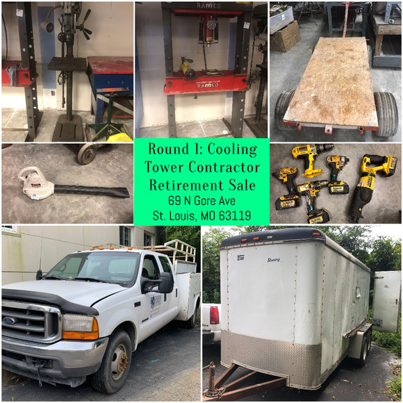 Round 1: Cooling Tower Contractor Retirement Sale